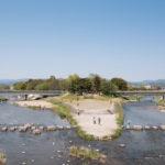 鴨川デルタ(鴨川公園)