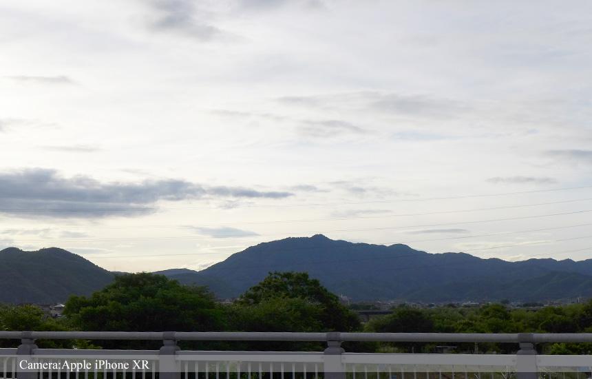 桂大橋から愛宕山
