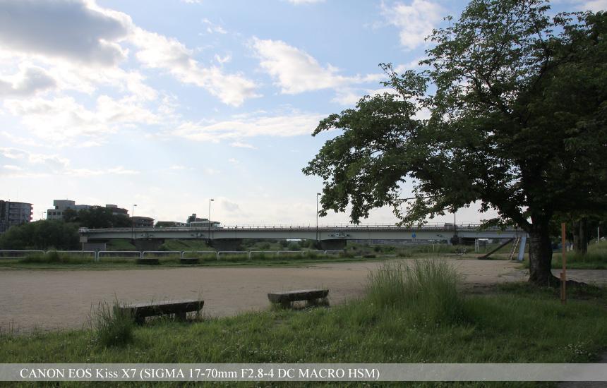 松尾公園(桂川河川敷 松尾橋地区)